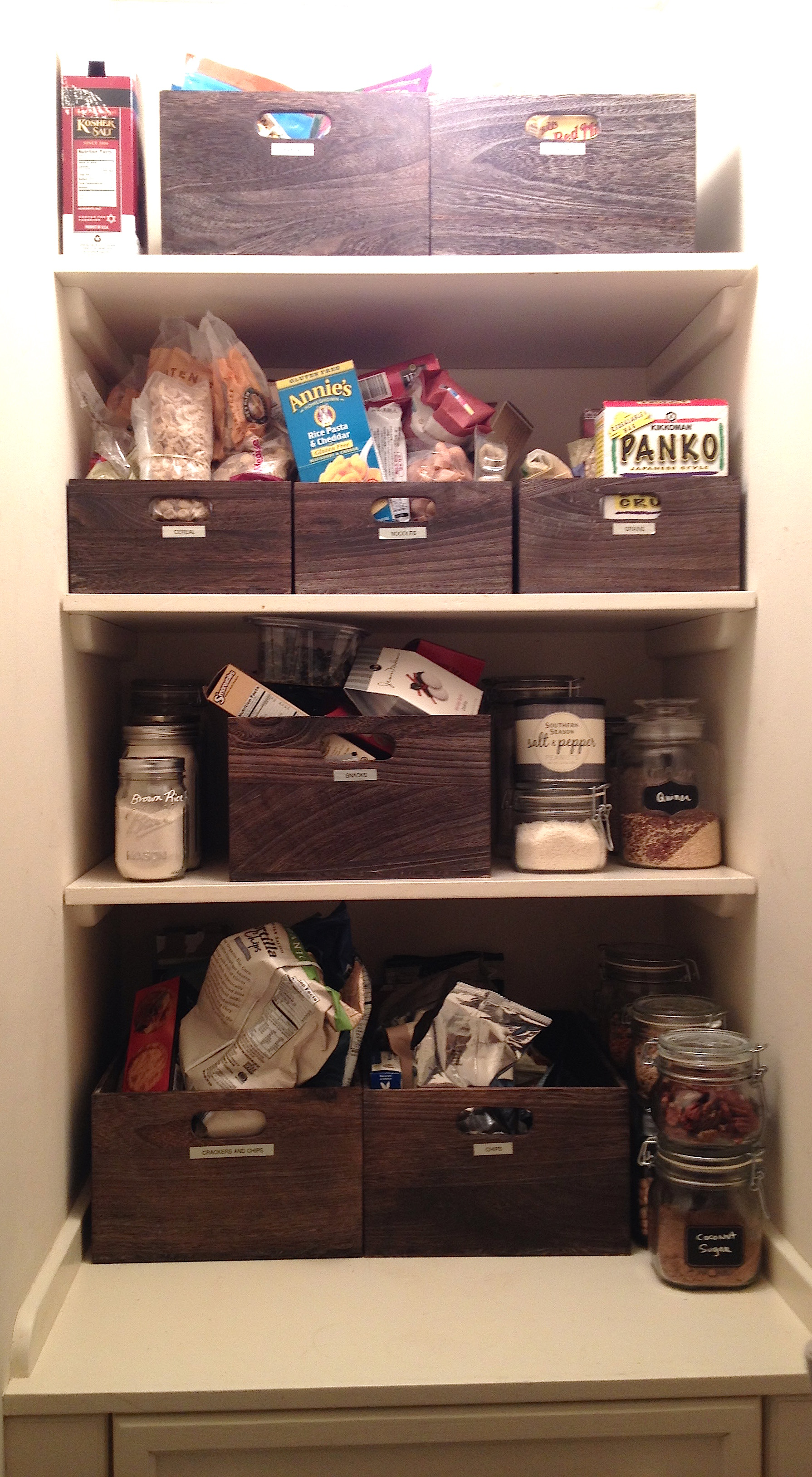 After : Pantry