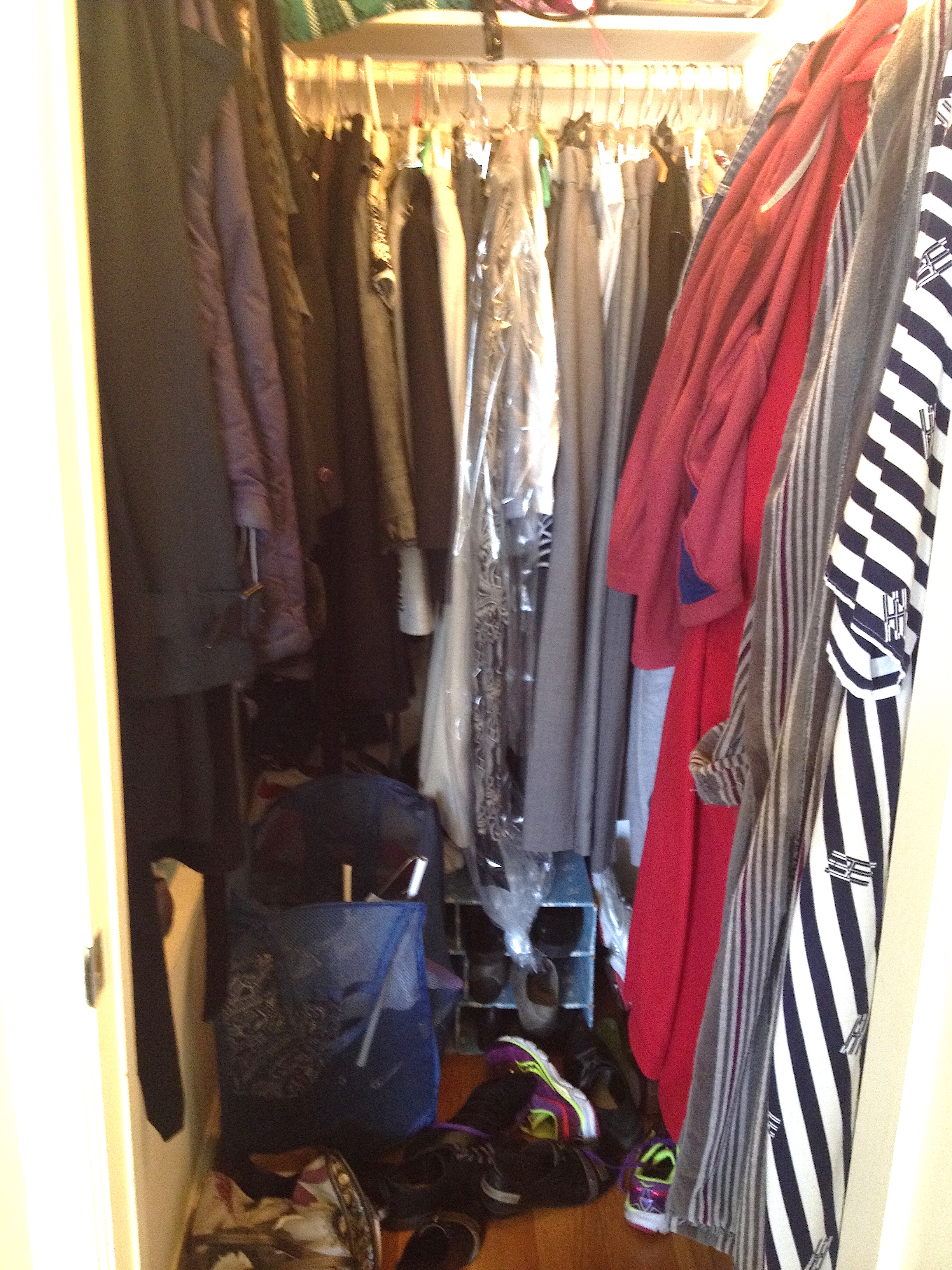 Before : Small Closet