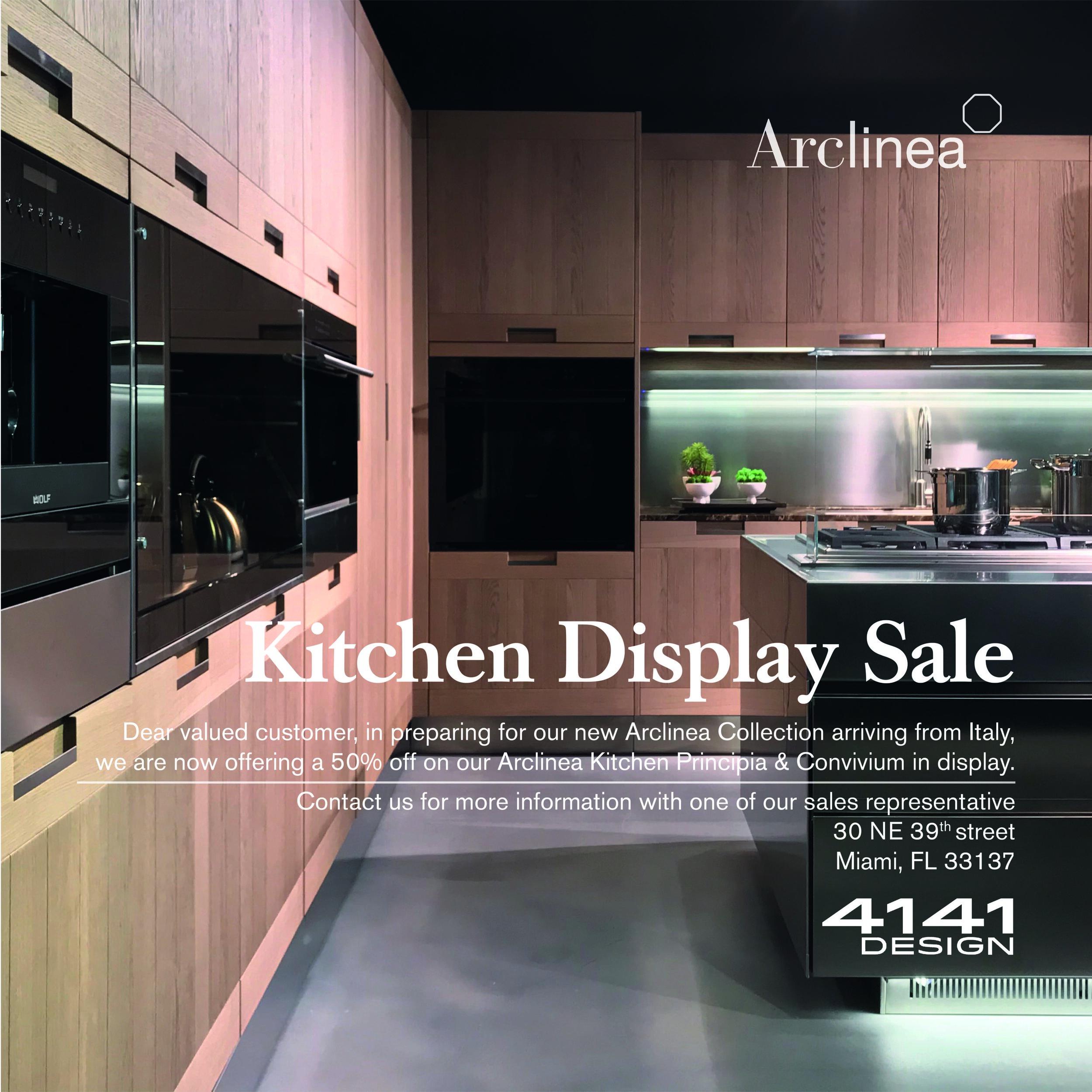 Arclinea Kitchen Display Sale