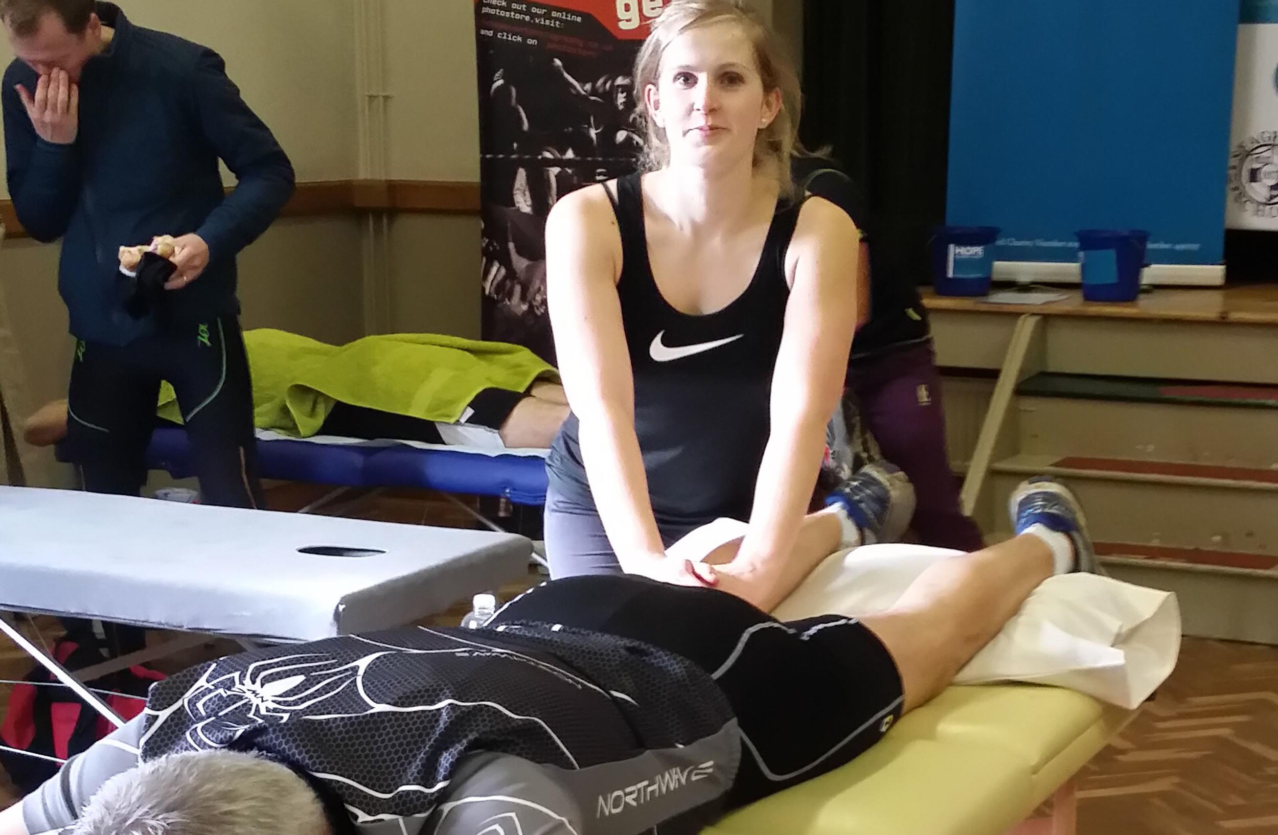 Joanne Paul - Sports massage therapist    Qualified in level 3sports massage therapy