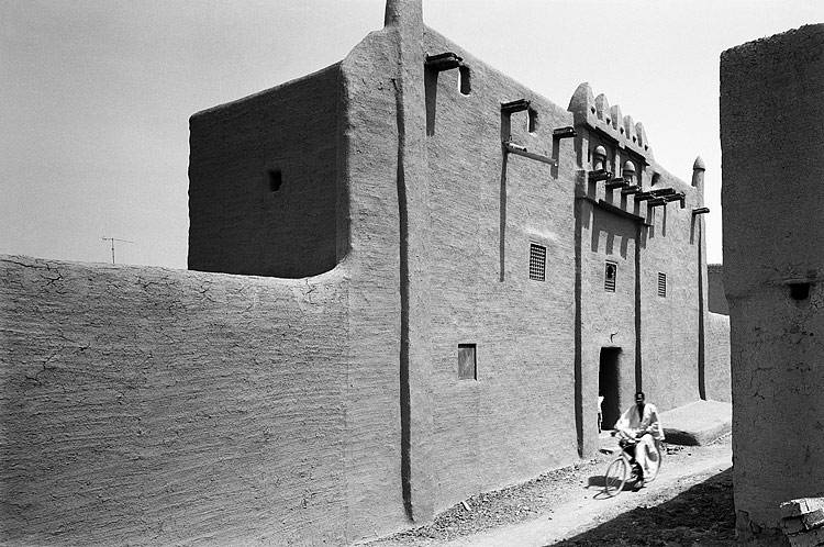 Façade of a traditional house in Djenne, Mali - Image courtesy of historum.com