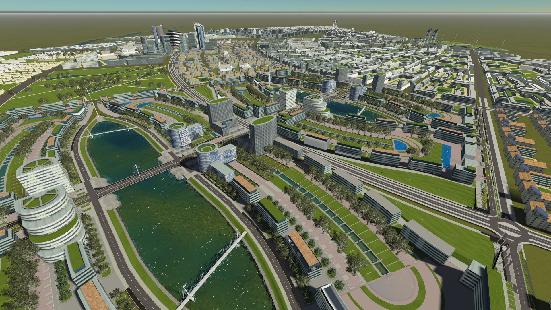 Konza Tech- City Vision - A Sylicone Valley for Kenya - Image courtesy of randcorporaterealestate.co.za