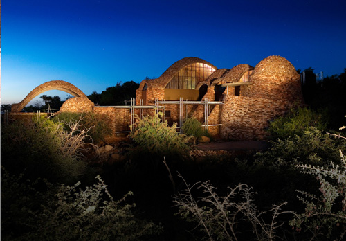 Interpretation centre, Limpopo, South Africa by Peter Rich Architects - Image courtesy of Detail Daily