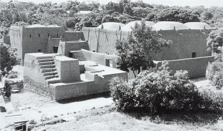 Friday Mosque, Zaria, Nigeria.1836