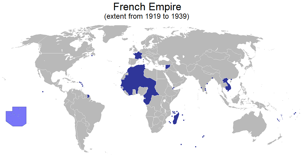 French Colonial Empire. 1919-1939