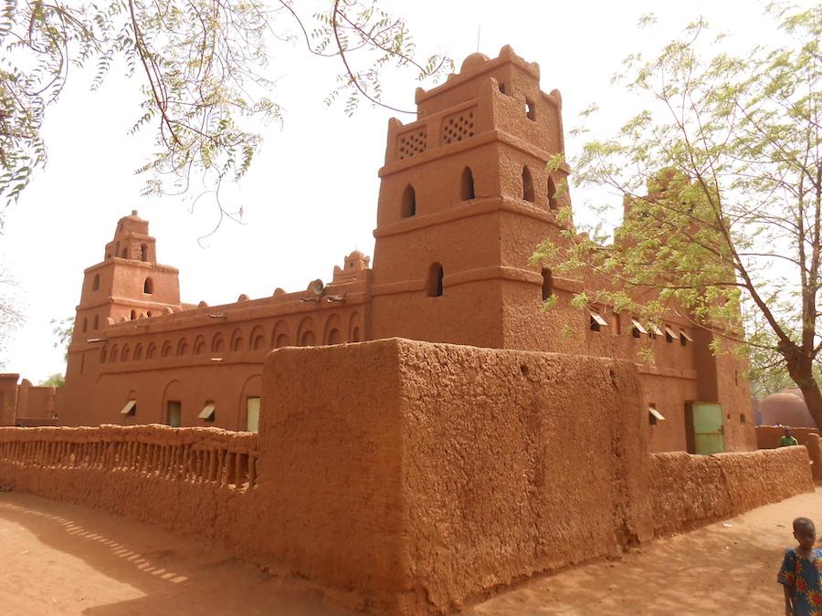 Mosquée de Yama. Niger. 1982