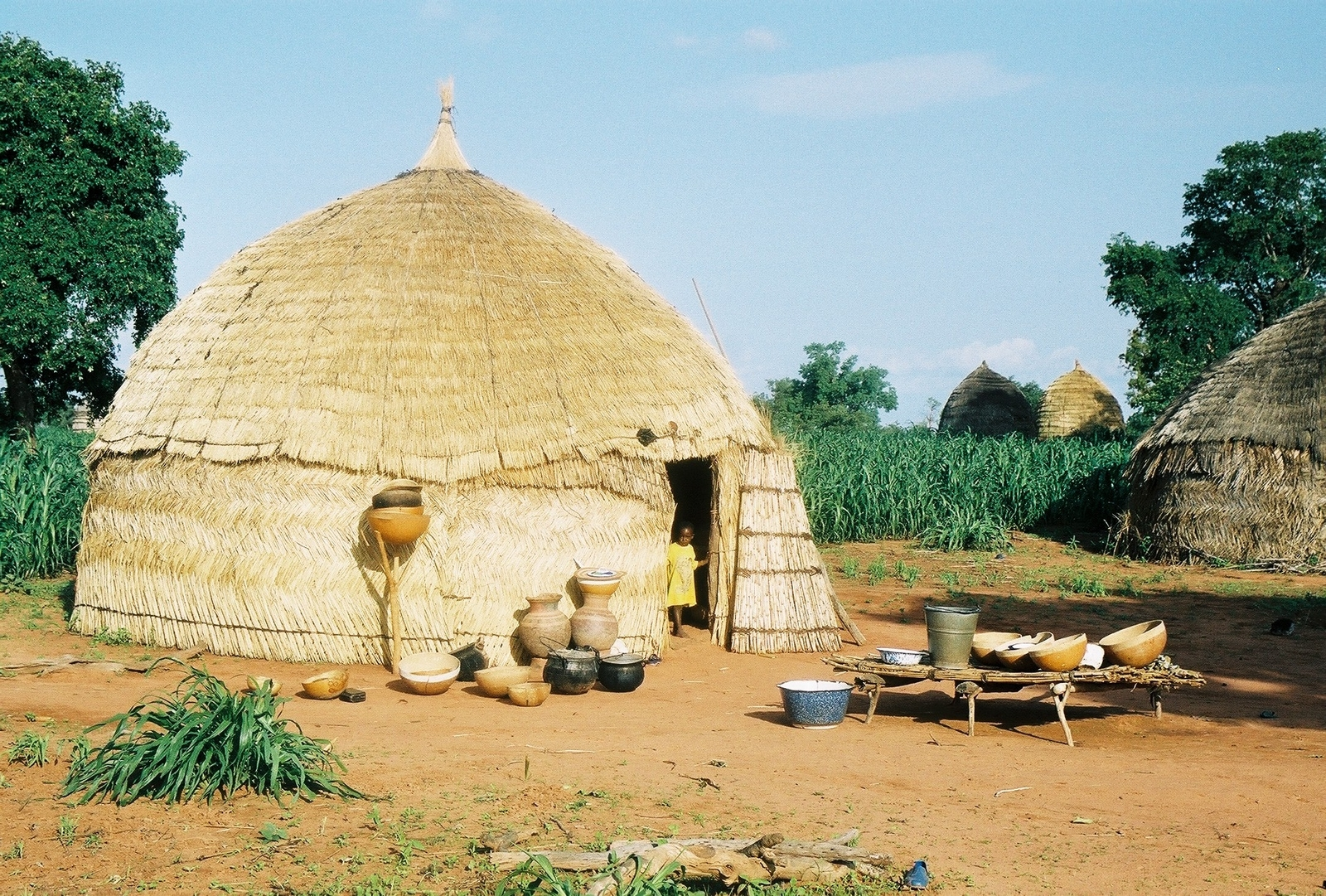 Hutte  ©   Projet éducatif Niger