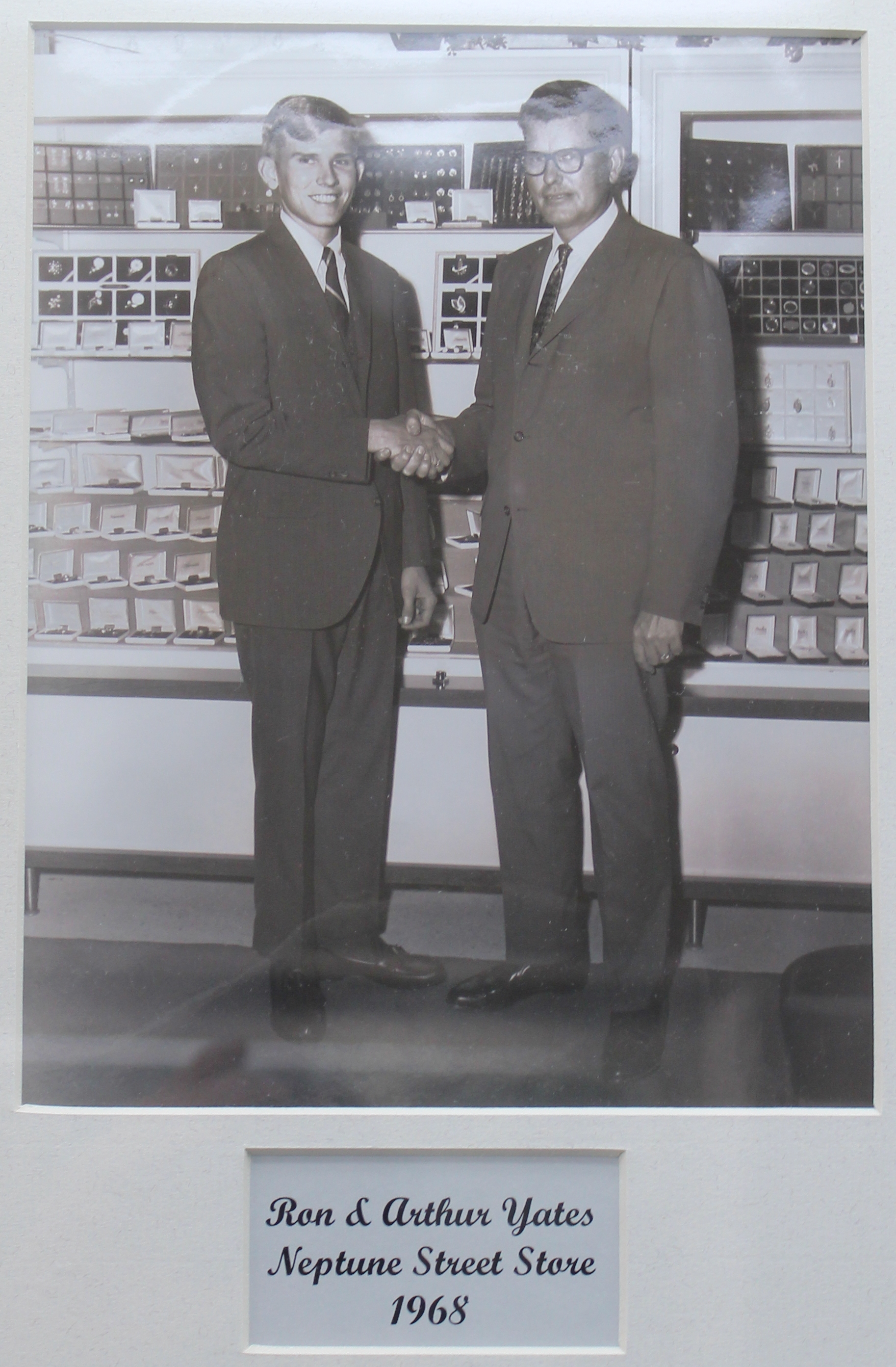 Ron and Arthur Yates