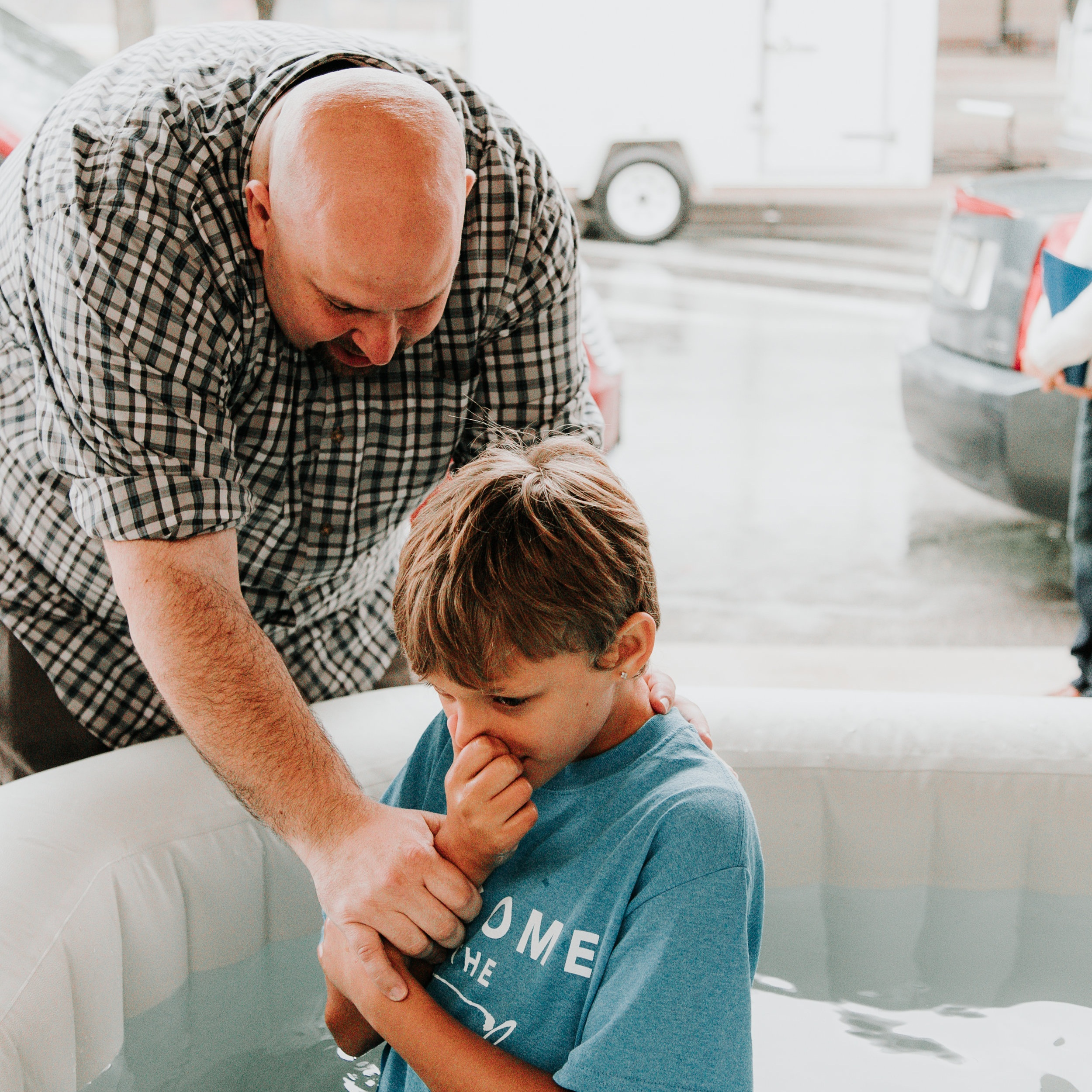Baptisms - Baptism is your opportunity to make a public declaration of your faith in Jesus! And we want to celebrate with you!