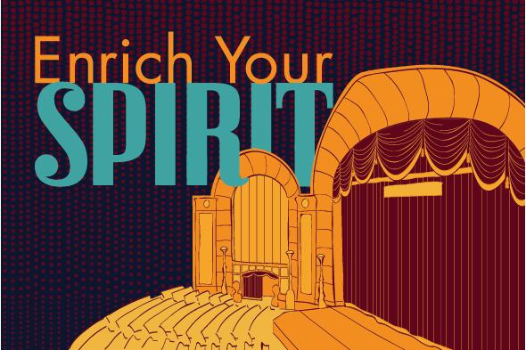 Michigan Opera Theatre Postcard
