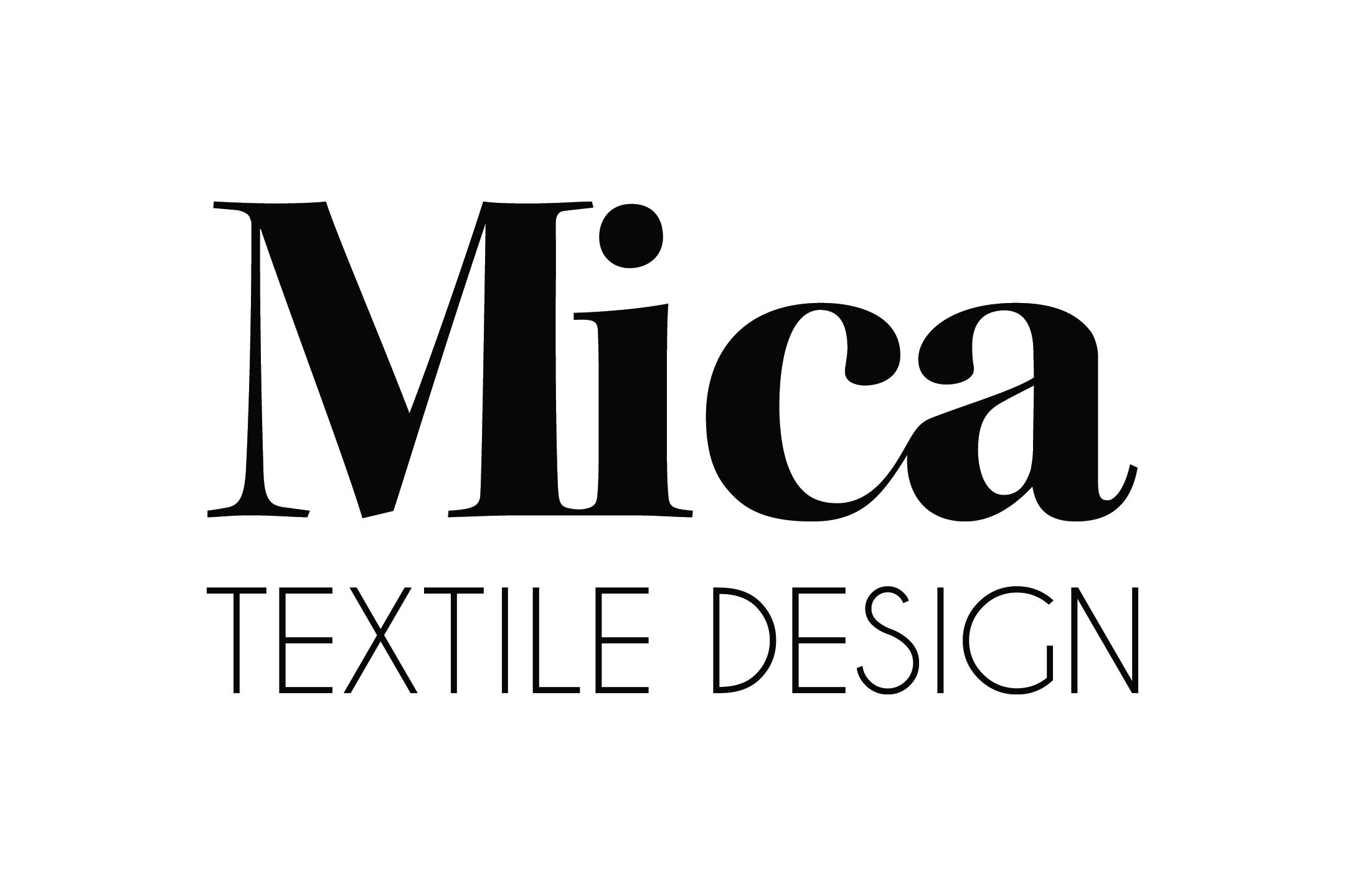 Mica Textile Design Logo