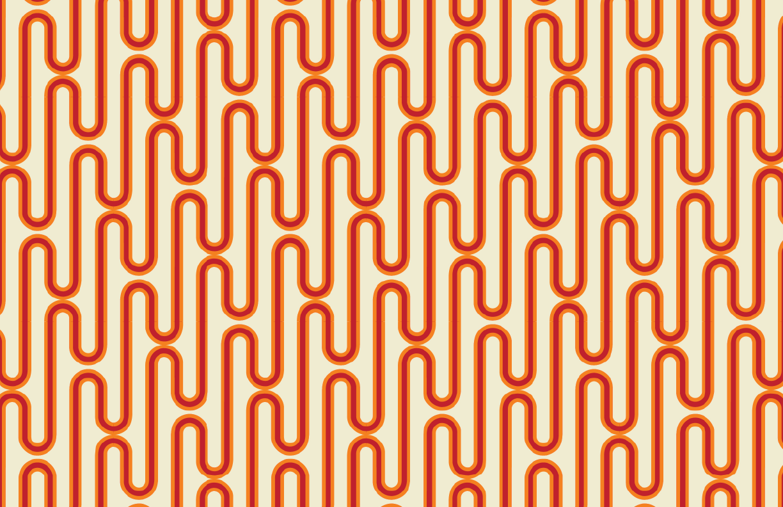 Jovi Print Cream/Coral