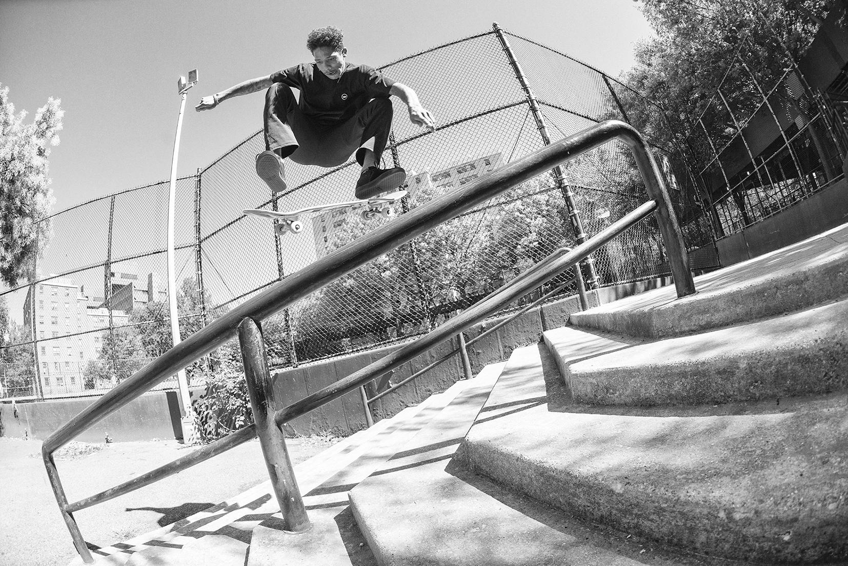 Boo Johnson | Kickflip Frontboard