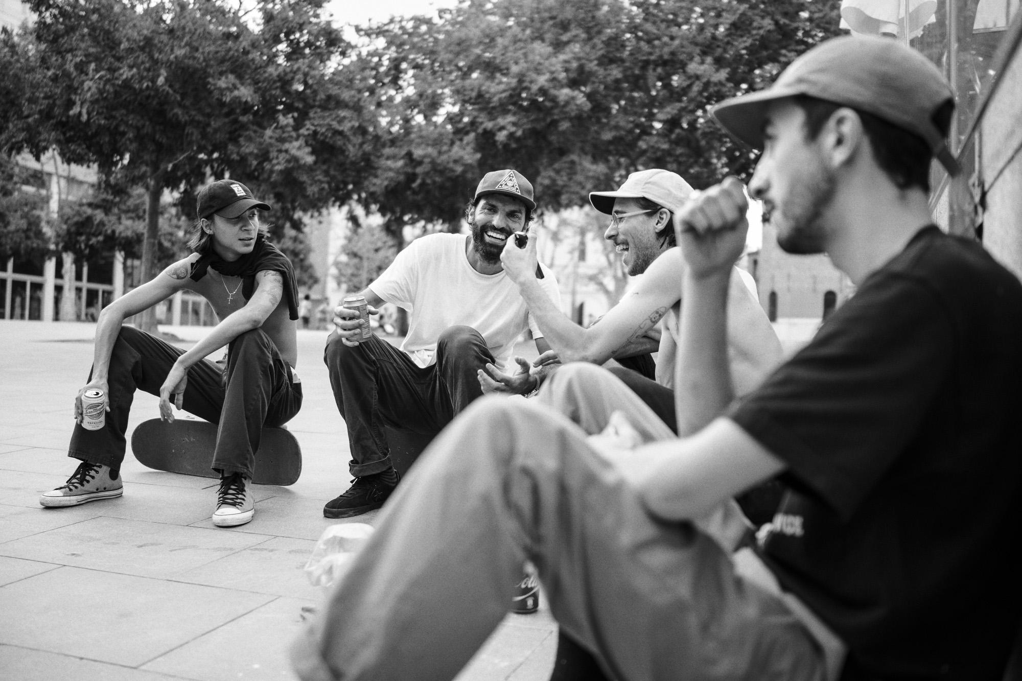 The Crew  → Photo by Roger Ferrero