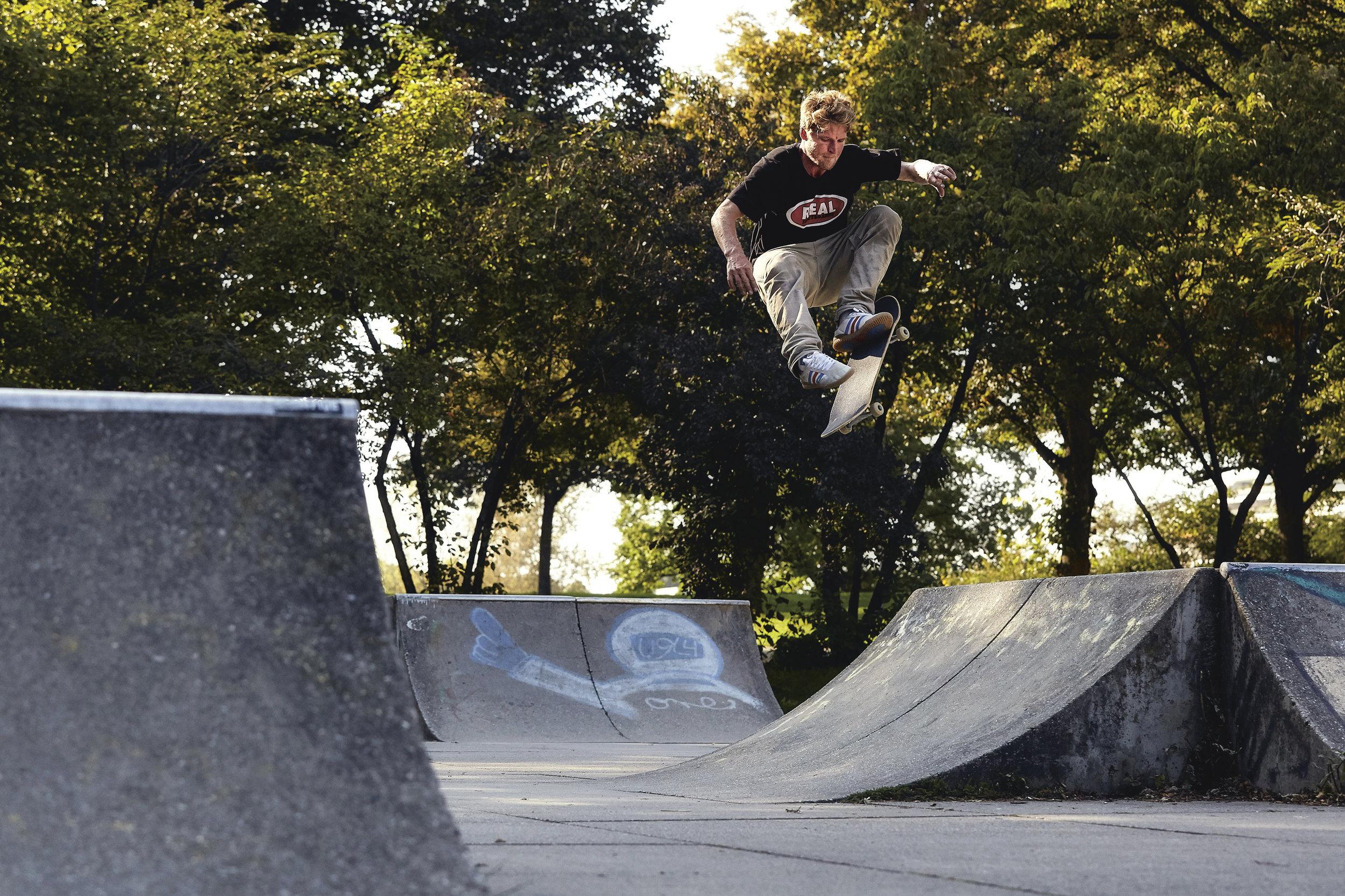 FS Kickflip → Photo by Conny Mirbach