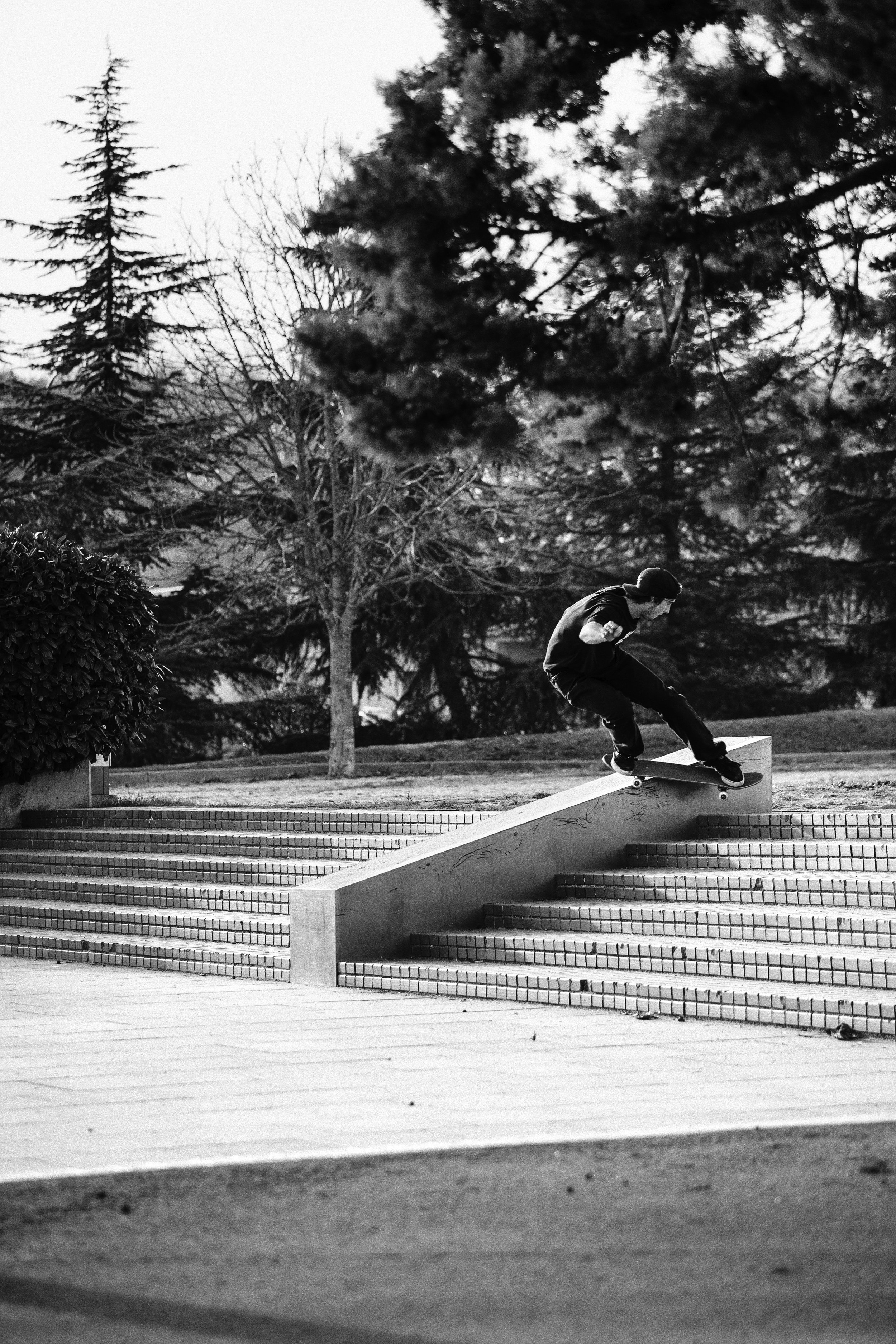 Fran Molina → BS Smith Grind   Photo by Roger Ferrero