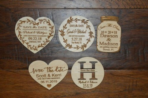 Rustic Save the Date Save The Date Magnet Infinite Save the Date Wood Save the Date Engraved Save the Date Custom Save the Date