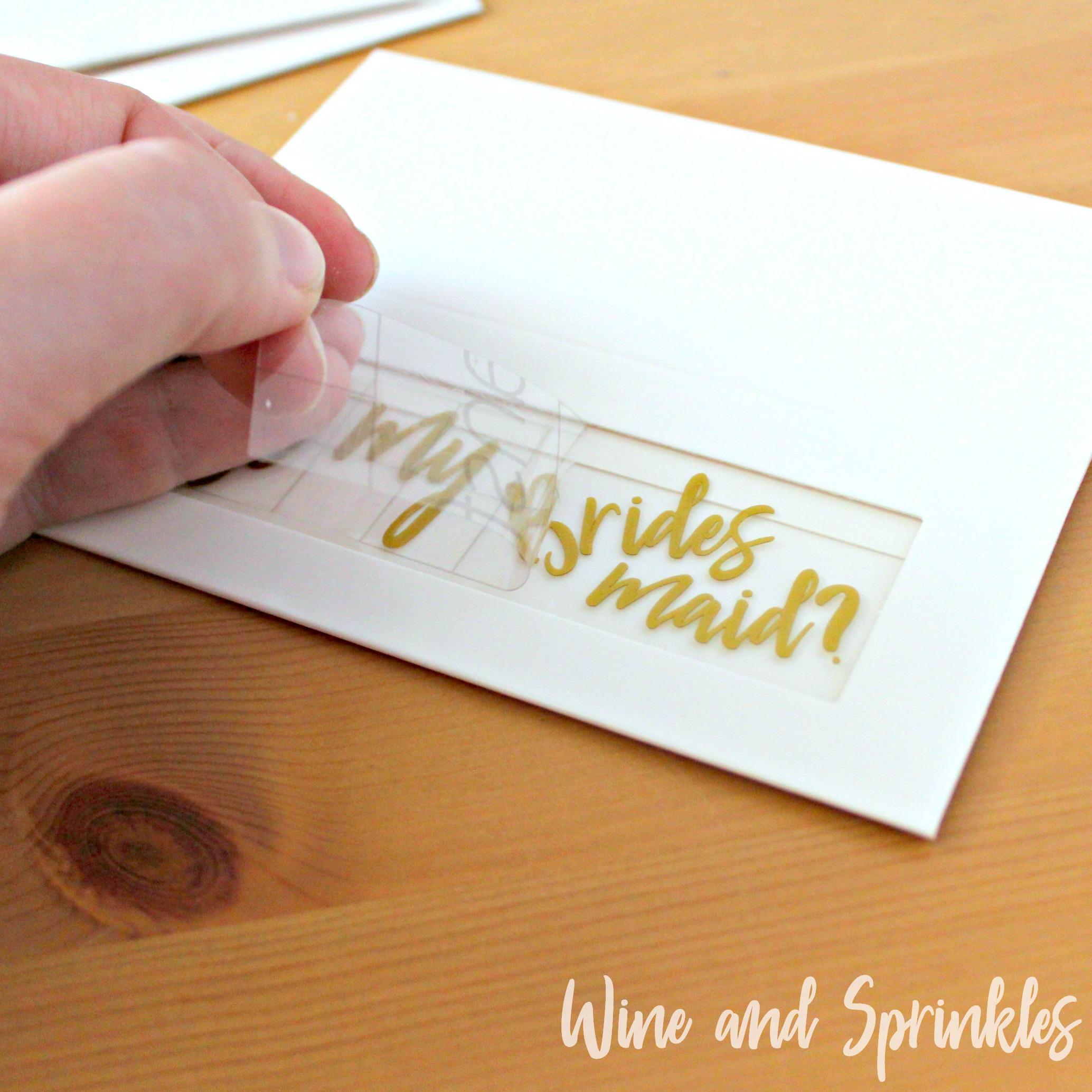 Be my Bridesmaid Macaron Box DIY Bridesmaid Proposal #svgfiles #diywedding  #bridesmaidproposal