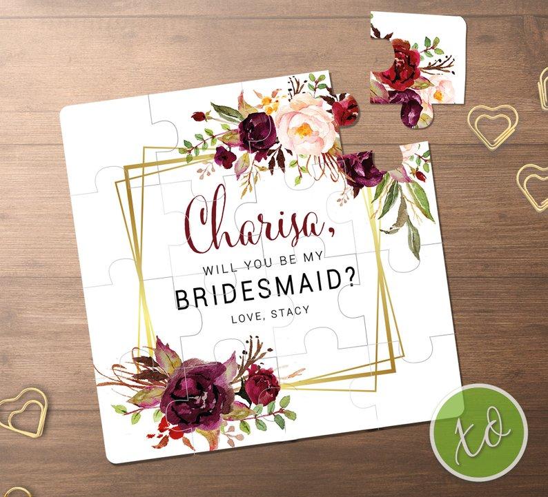 Bridesmaid Proposals Under $15 #bridesmaidproposals #willyoubemybridesmaid #budgetwedding