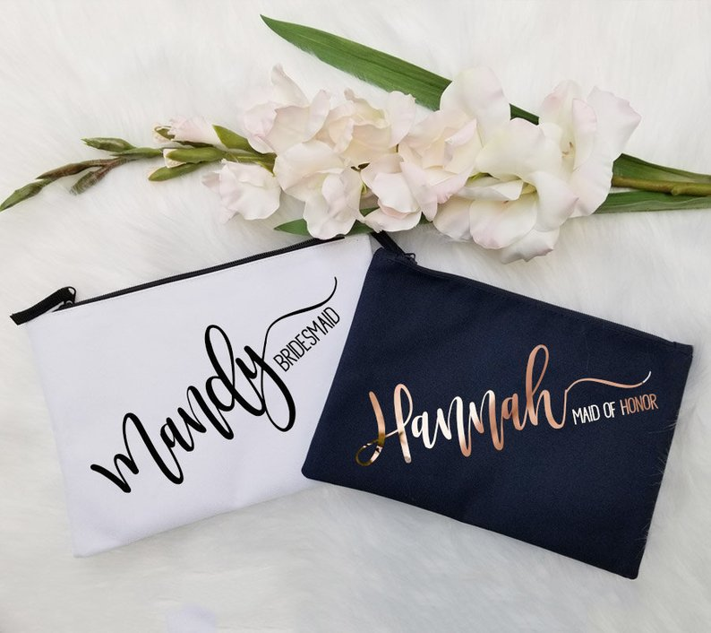 Bridesmaids Gifts Under $25 #budgetwedding #bridesmaidgifts