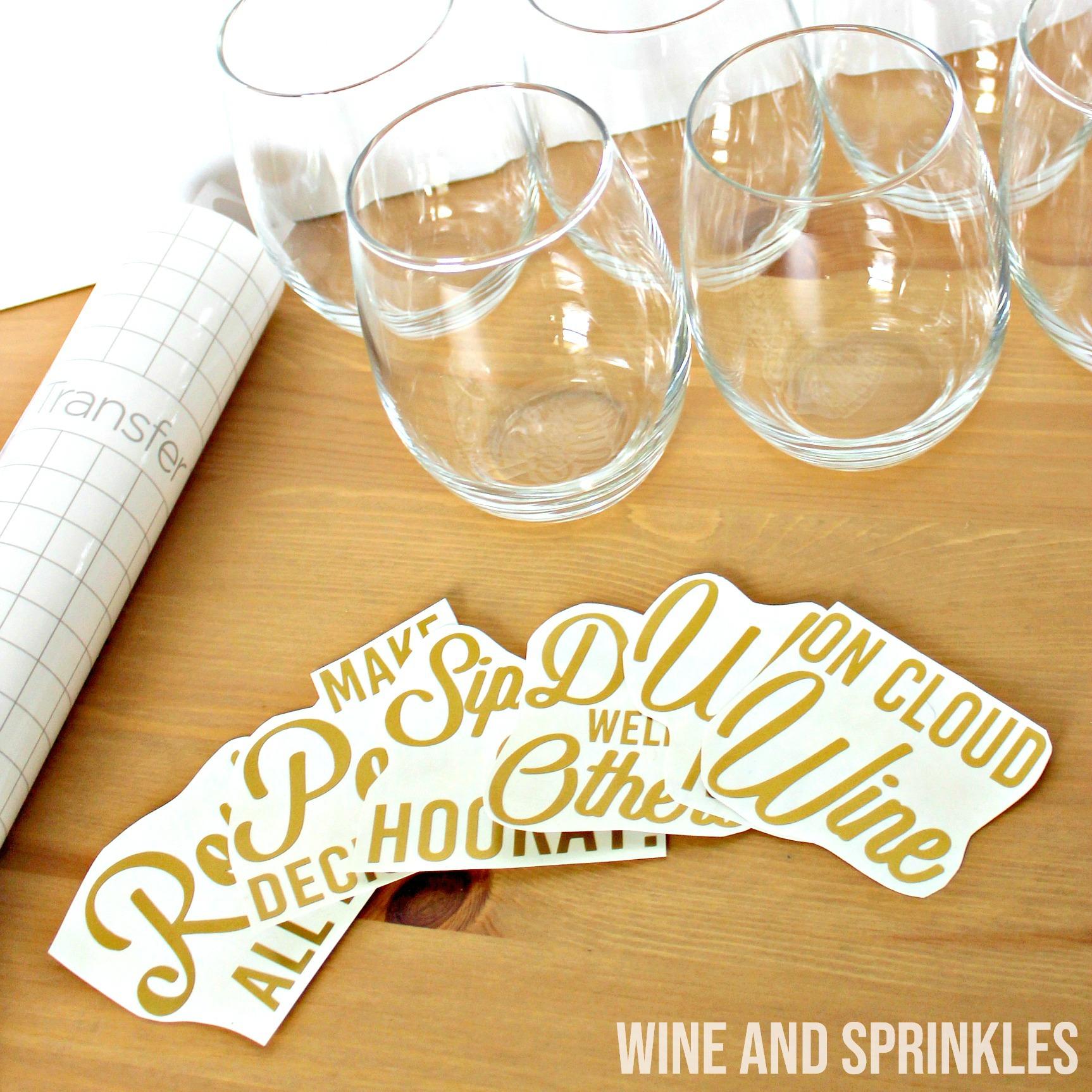 DIY Wine Pun Bachelorette Wine Glasses #wineglasses #svgfiles #bachelorette