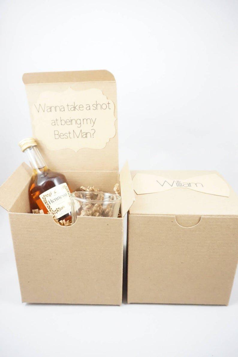Unique and Cheap Groomsman Proposals Under $15 #willyoubemygroomsman #groomsmanproposal