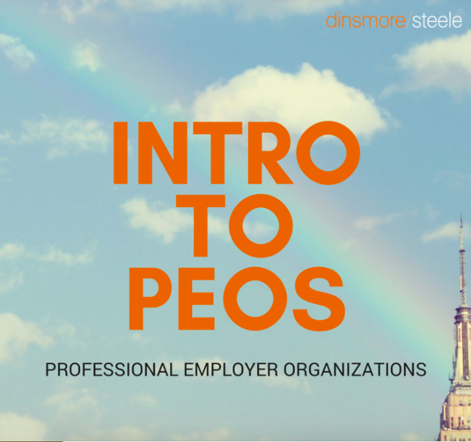 Dinsmore Steele Intro to PEOs