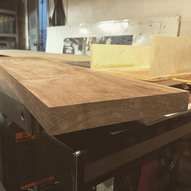 Well needed bathtub board. #oxlabel and Santa collaboration. #woodworking #oregonblackwalnut #handmade #pdxhandmade #madeinportland #madeinportlandoregon #madeinoregon #madeinpdxor