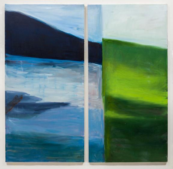 Hudson River Painting #1 2013
