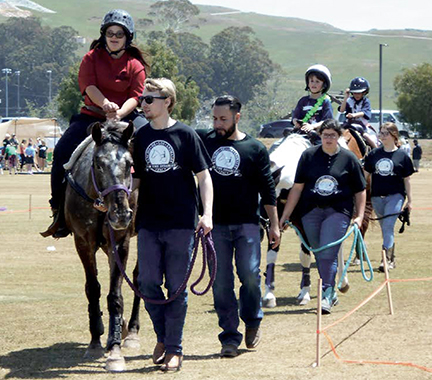 Special Olympics - You will find us every year at Cuesta College where we offer rides to everyone at the Special Olympics.