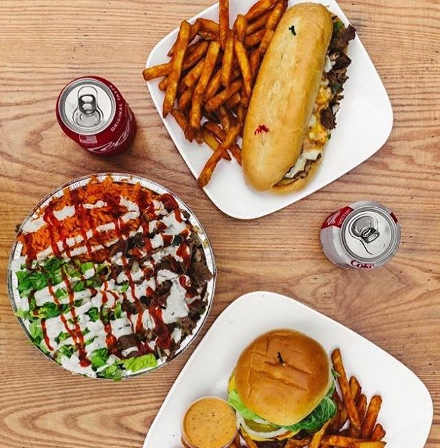Can't decide what to eat? Just try it all! Check out our menu on urbantaali.com 😋🤗⠀⠀ -⠀⠀ #CantDecide #Help #SoMuchFood #Eat #EatEverything #Feast #Feasting #FriendsFeast #UrbanTaali #FeastYourEyes #Wrap #Halal #StreetFood #AtlantaStreetFood #Phillys #Burgers #Fries #Yum #NomNom #FoodPorn #Foodie #Atlanta #Hotlanta #ATL #ATLFoodTrucks #FoodTruck #Delicious #Health #Yummy #food