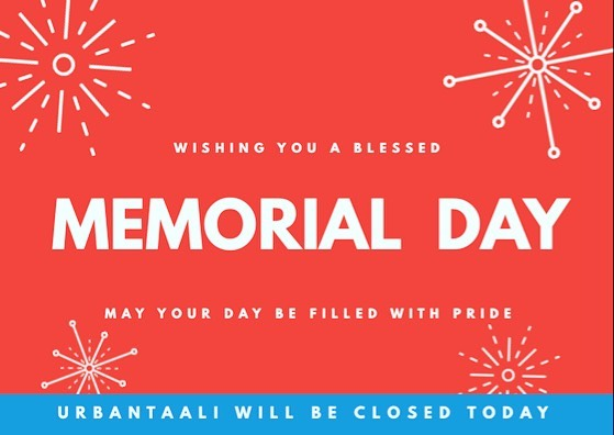 Happy Memorial Day everyone. We will be closed today for our employee family and friends, we hope y'all stop by tomorrow! 😎 -⠀⠀ #LongWeekend #WeekendVibes #Happy #HappyFace #HappyWeekend #UrbanTaali #FeastYourEyes #Wrap #Halal #StreetFood #AtlantaStreetFood #Phillys #Burgers #Fries #Yum #NomNom #FoodPorn #Foodie #Atlanta #Hotlanta #ATL #ATLFoodTrucks #FoodTruck #Delicious #Health #Yummy