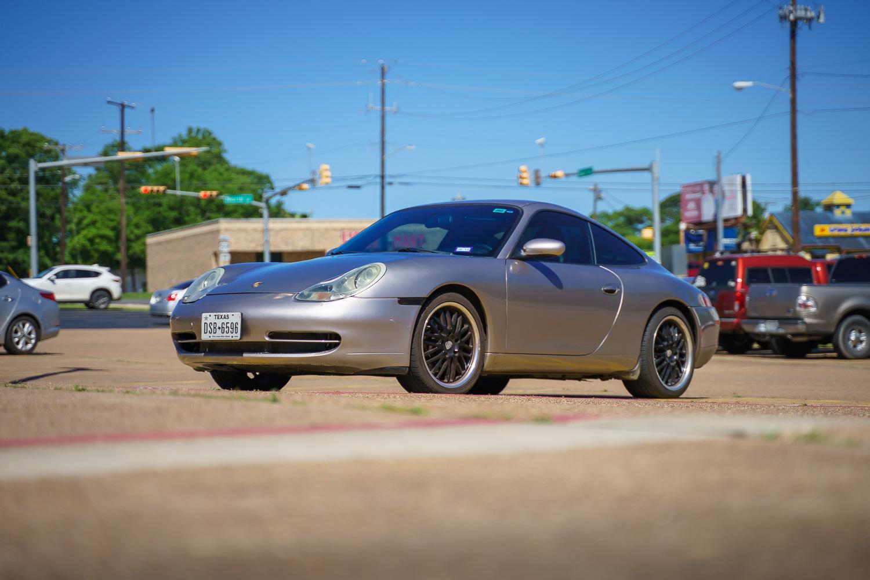 Silver 2001 Porsche 911 Carrera 4