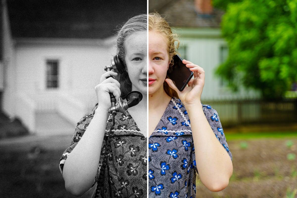 Girl Past, Girl Present