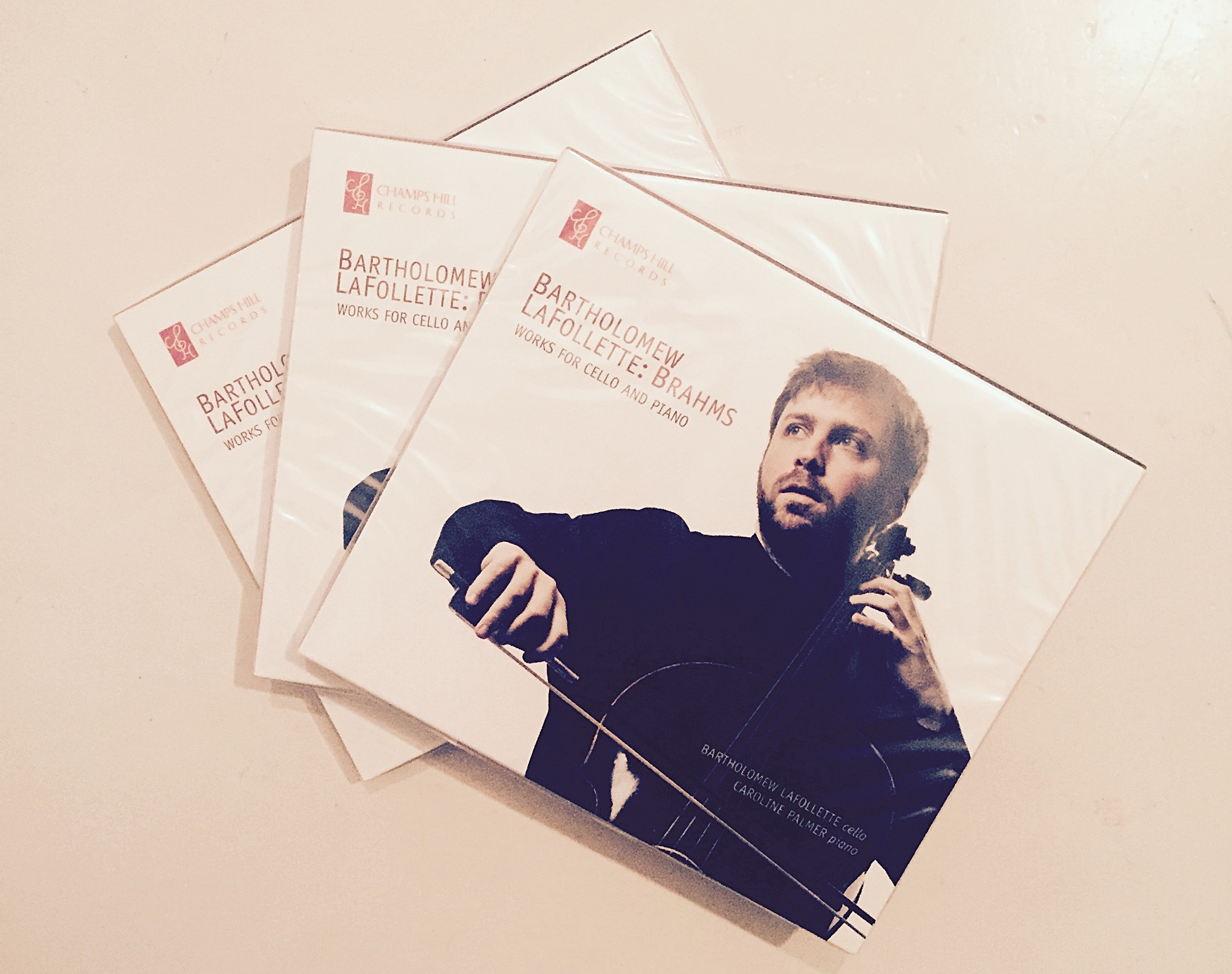 Bartholomew LaFollette and Caroline Palmer: Debut CD on the Champs Hill label out now! - Reviewed by The Strad Magazine, November 2017