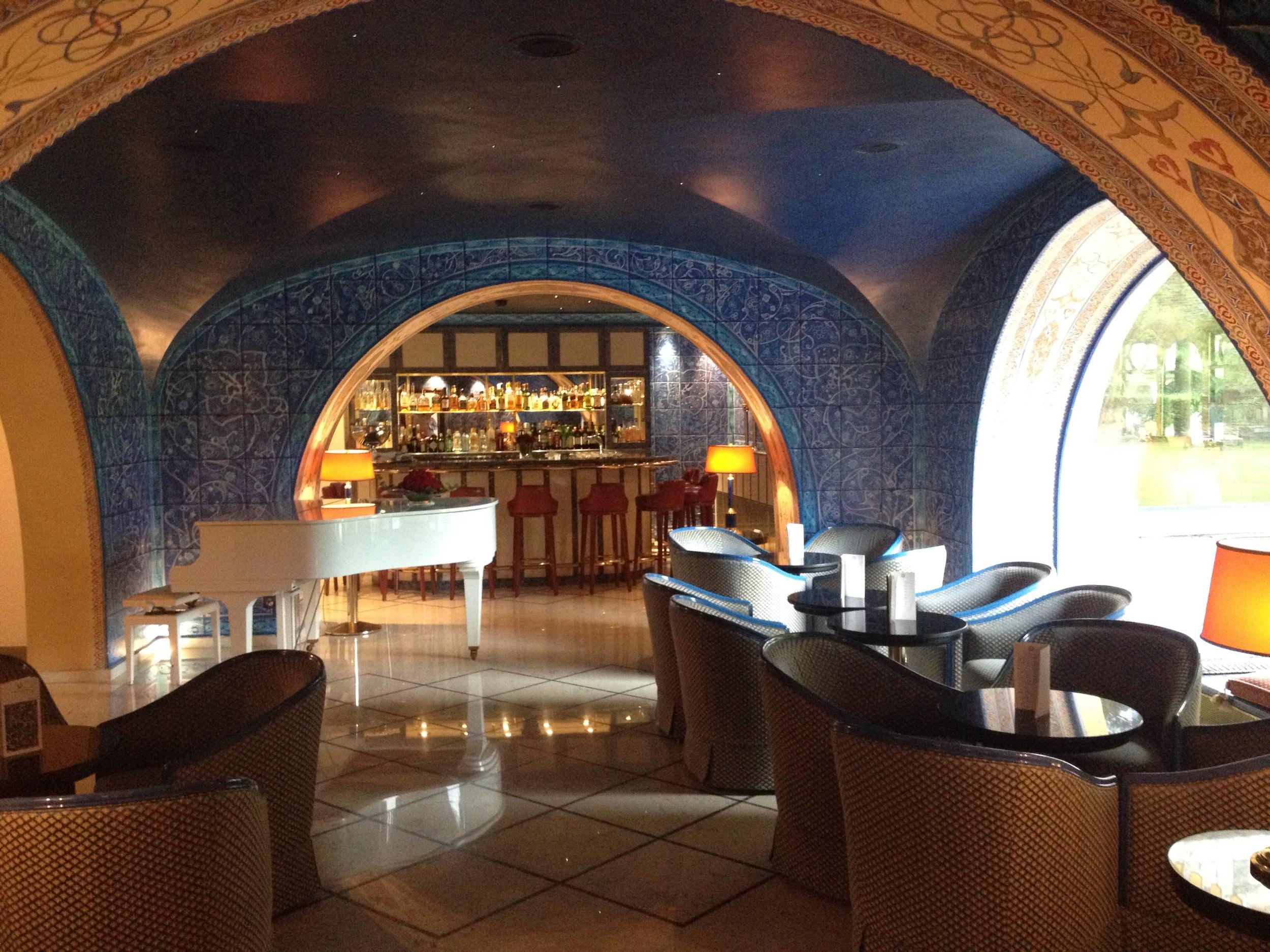 The bar at Hotel Castello Del Sole