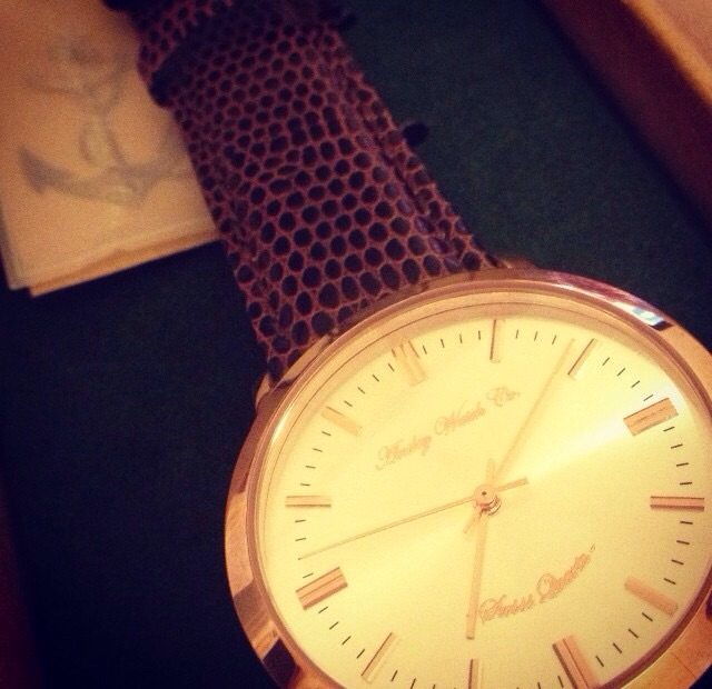 Anseley 'Sailor Series Rose Gold' Watch