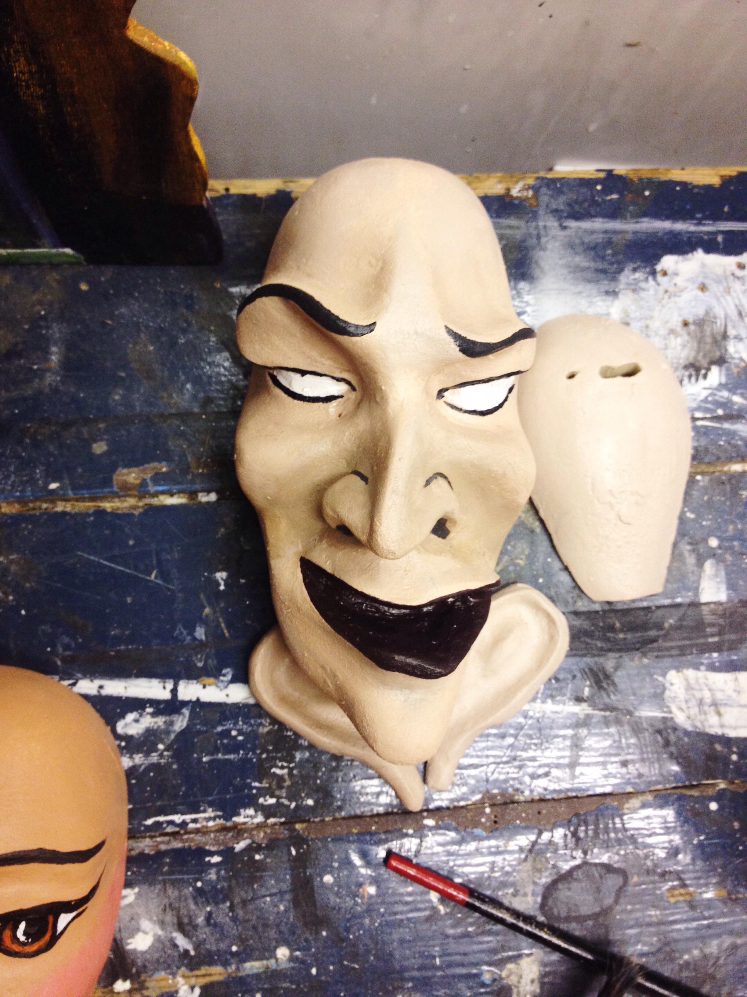 The 'Baddie' being repainted