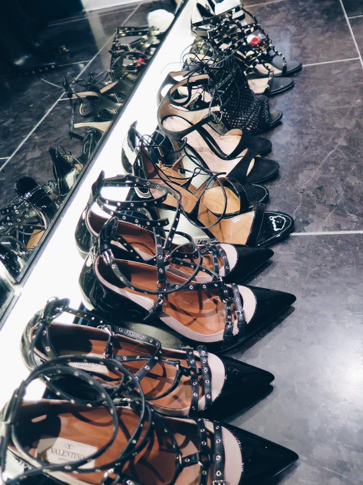 Brown Thomas Spring Summer 2016 Shoes Backstage