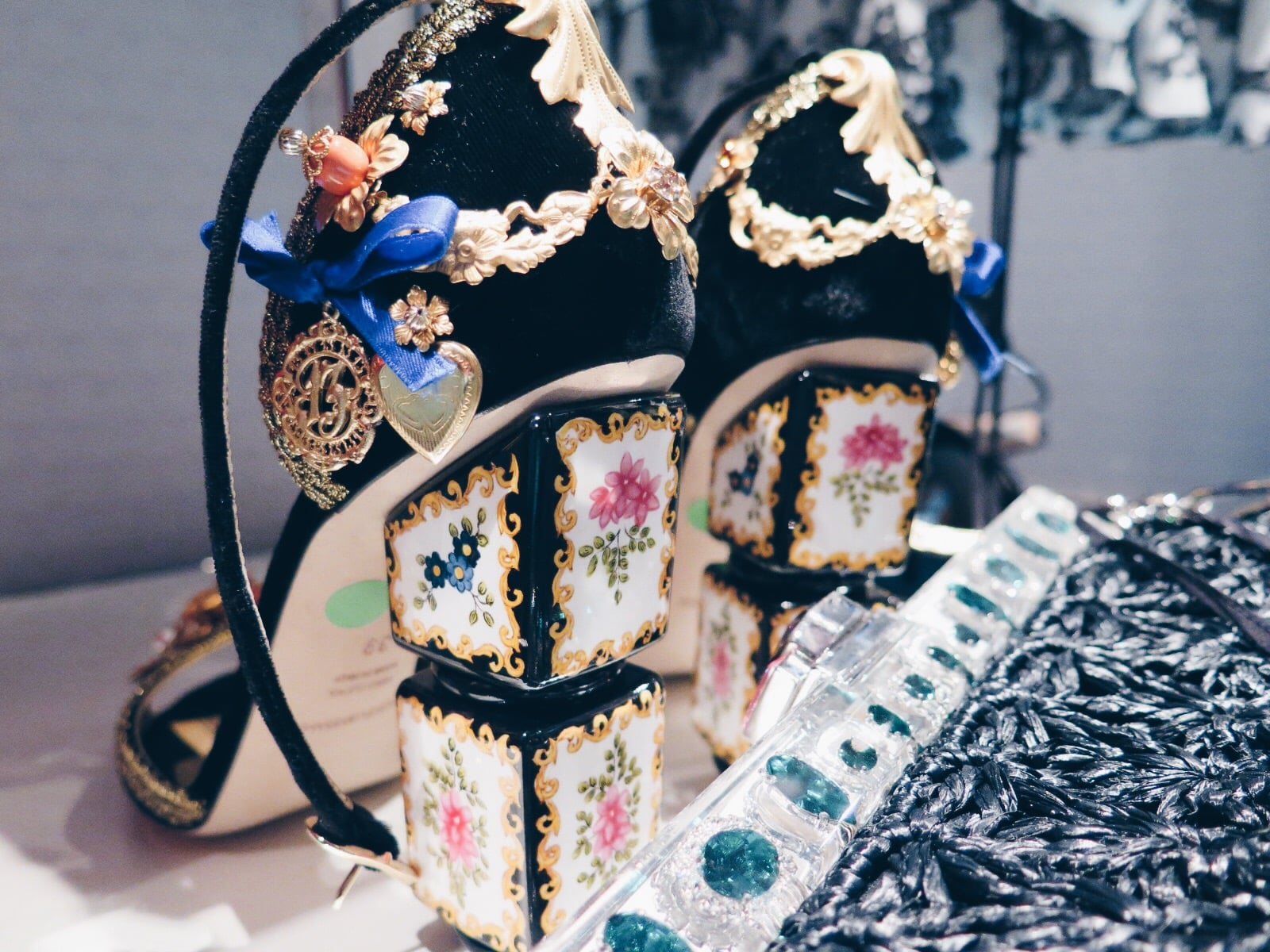 Brown Thomas Spring Summer 2016 Dolce and Gabbana Shoes and Bag