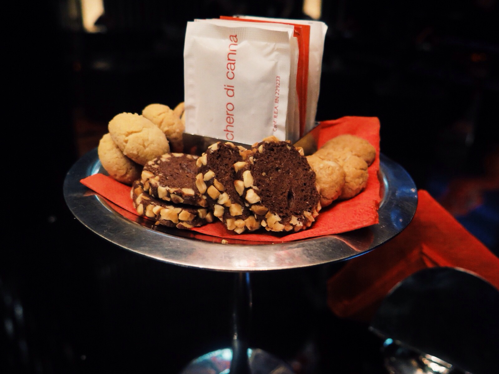 Biscuit tier at the Dolce&Gabbana Bar