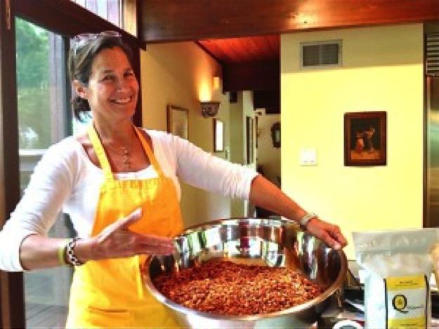 Becky Quinn, founder of BQgranola