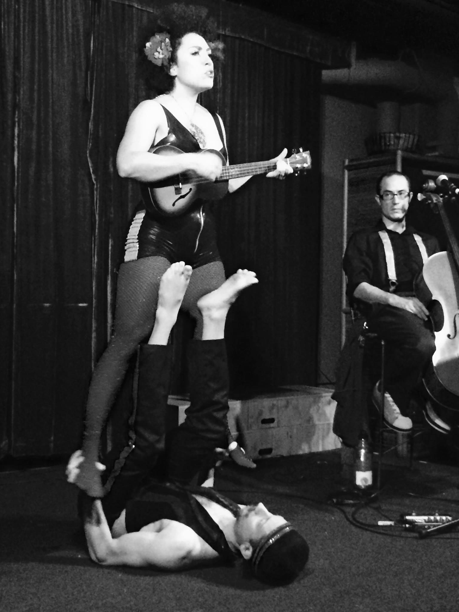 Performance at The  Marsh Theater  Berkeley.