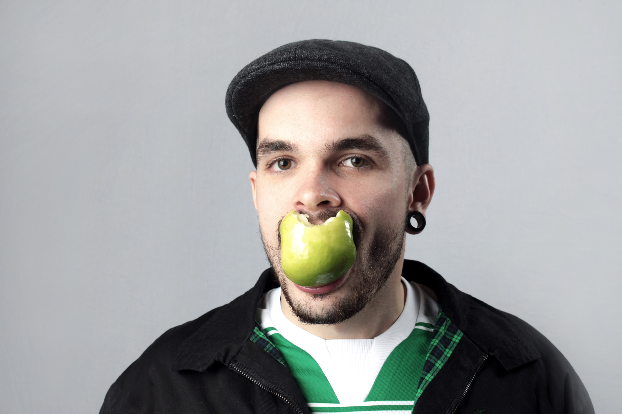 Portrait of Authority Downfall drummer Scott