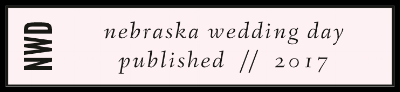 NEBRASKA WEDDING DAY VENDOR BADGE