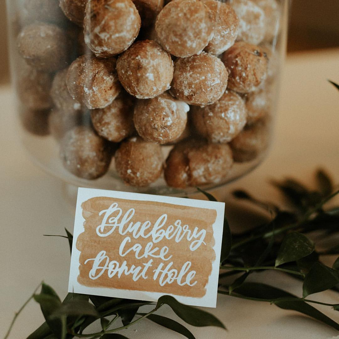 donut hole labels | Letter Lane Design Studio