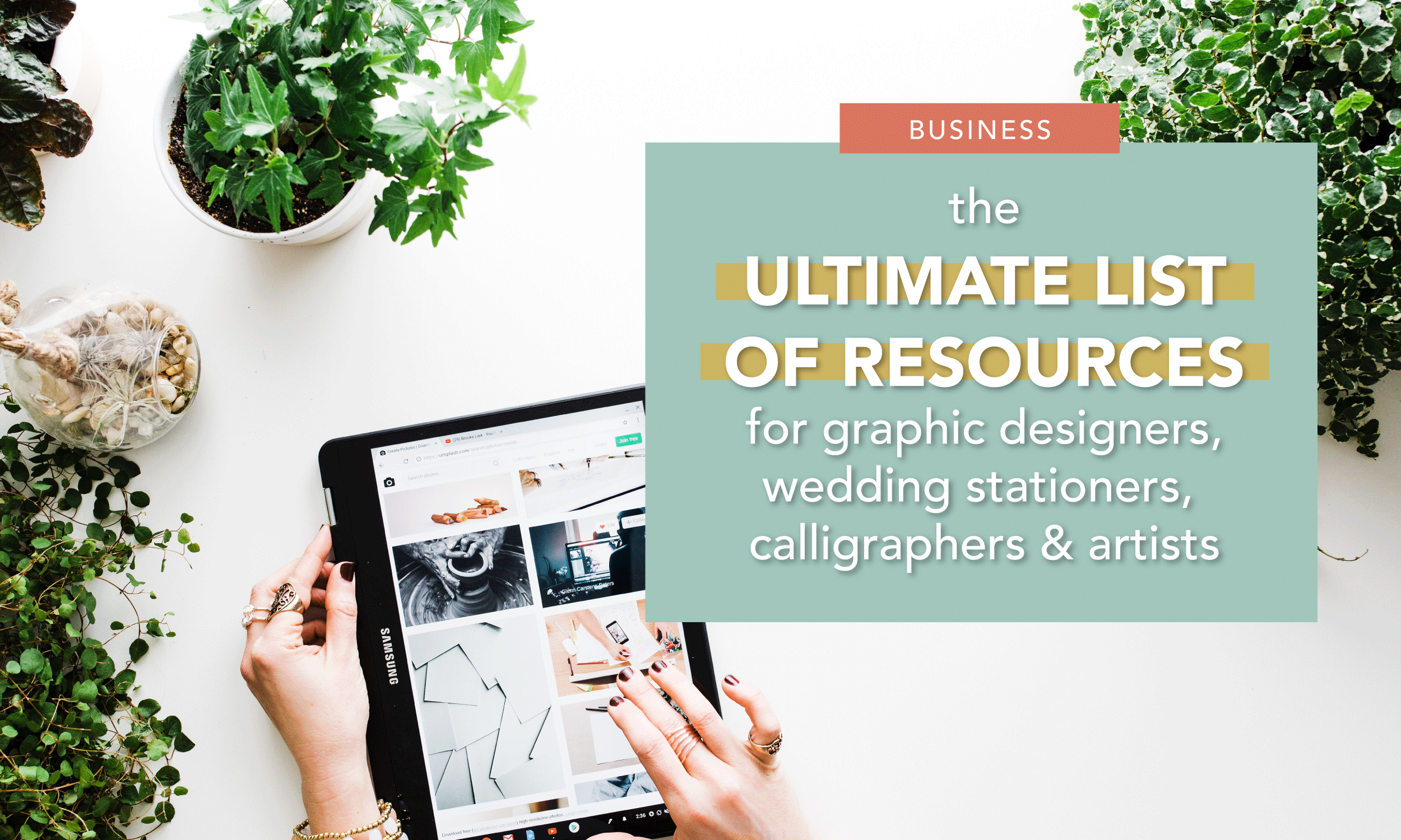 Ultimate List of Resources for Designers and Calligraphers