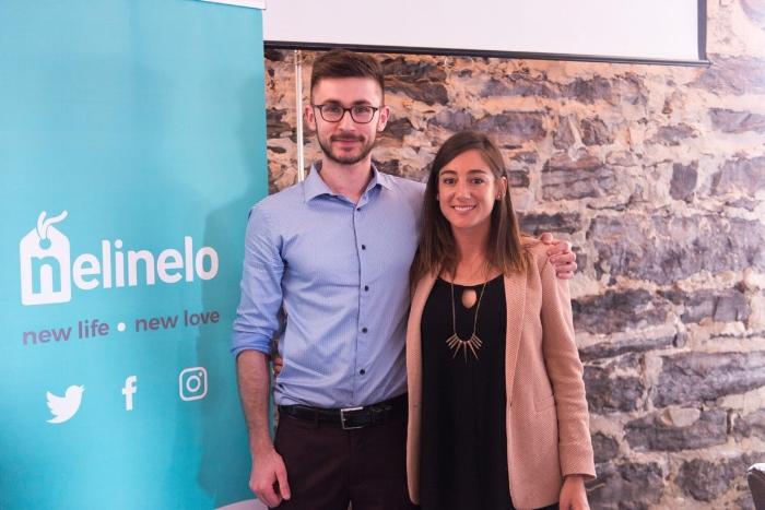Kevin et Aurélie, les deux fondateurs de l'application (Crédit:oHelloBeauty)