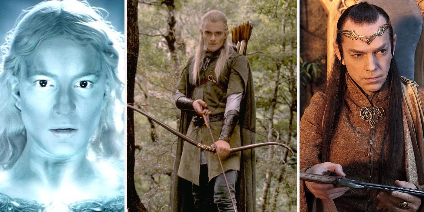Dame Galadriel, Legolas et Elrond! :)