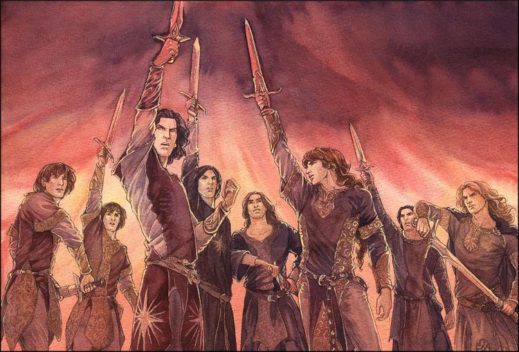 Les Noldor et leur meneur Feanor